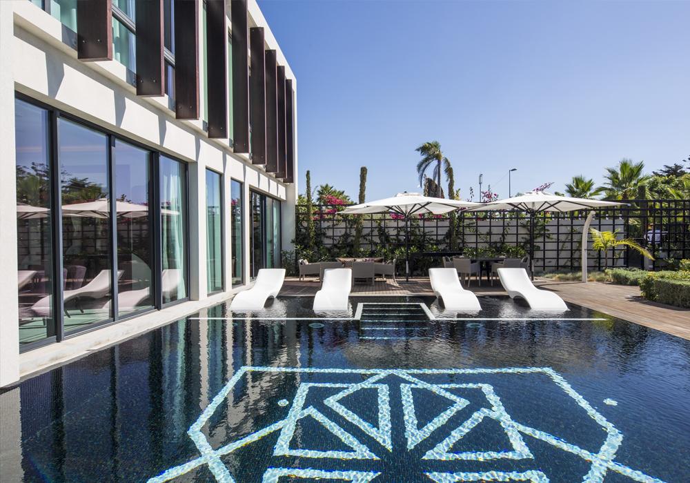Story Rabat - Emiri Villa pool view
