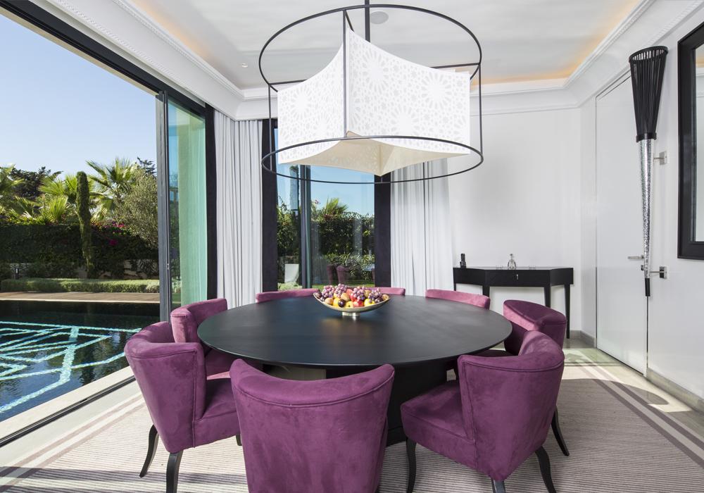 Story Rabat - Emiri Villa private dining room