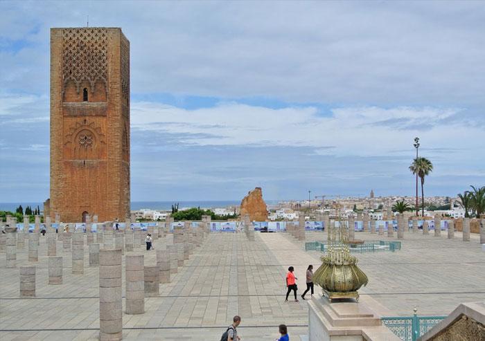 Historical Monuments (Chellah, Hassan Tour)